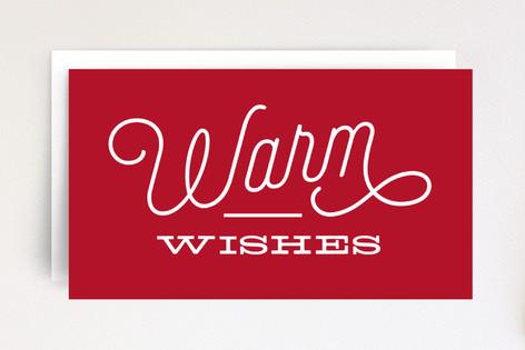 Bold Warm Wishes Mini Cards