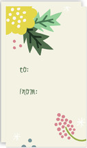 Floral Collage Gift Tag... by Pace Creative Design Studio