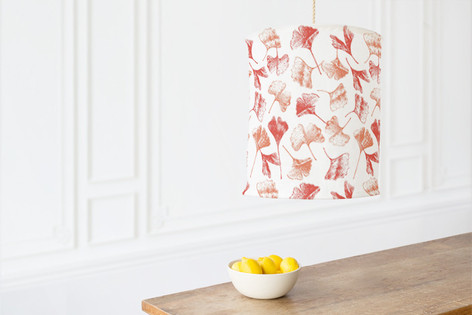 Gingko Floral Self Launch Chandelier Lampshades