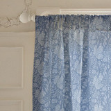 Frosted Winter Fabric Curtains