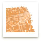 Custom Filled Map Art