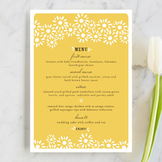Daisy Chain Menu