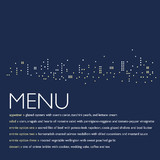 Night Lights Menu