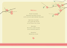 Journey Together Menu