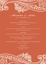Spanish Lace Menu