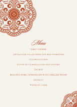 Ornamental Menu