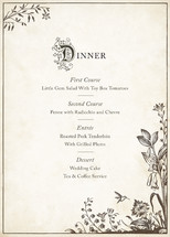 Story Book Menu