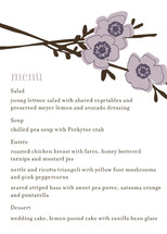 Apple Blossom Menu