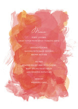 Aquarelle Menu