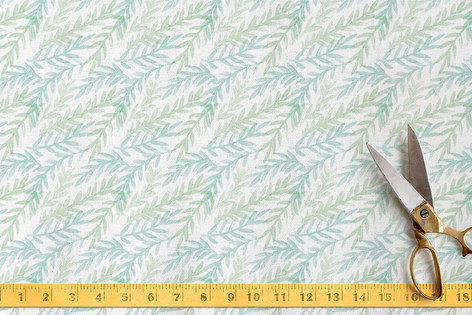 Watercolor Branches Fabric
