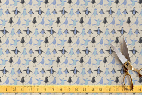 Junior Birds Fabric