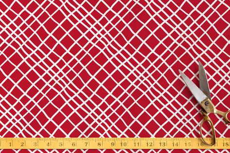Hand Drawn Hatch Fabric