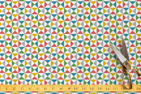 Color Angles Fabric