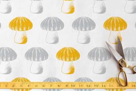Bubble Top Truffles Fabric