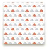 Umbrella Top Truffles Fabric
