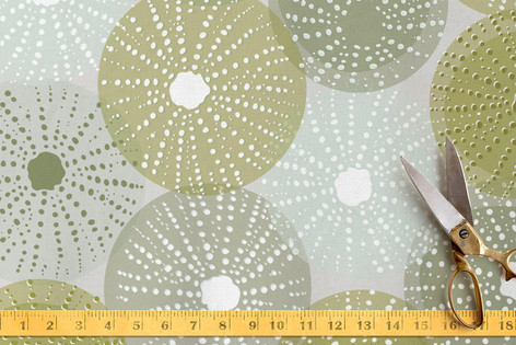 Sea Urchin Soiree Fabric