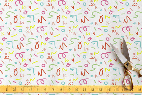 Scibbles Fabric