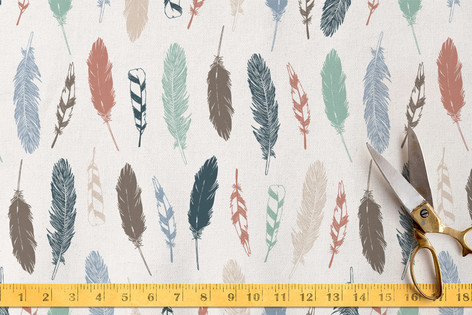 Feathered Fabric