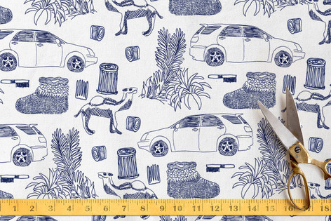 Everyday Things Fabric