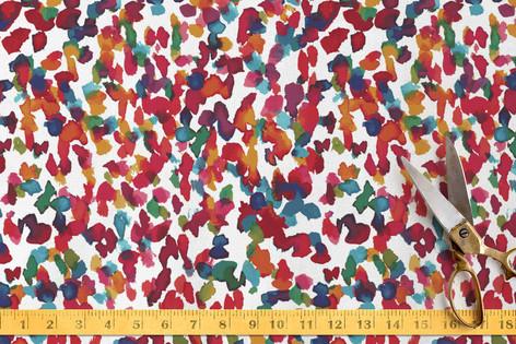 Colorful marks II Fabric