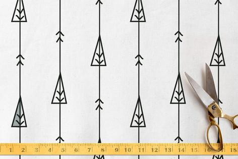 arrow woodland Fabric