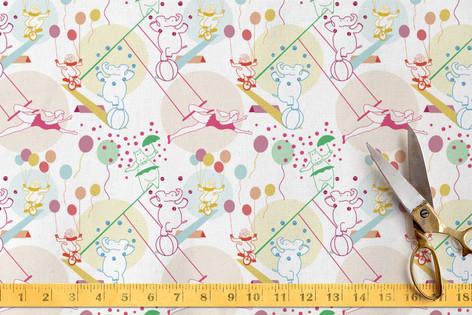 Circus Sweethearts Fabric