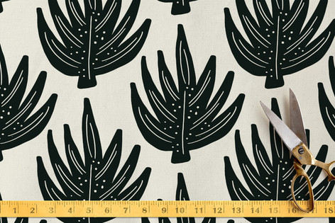 Bold Palms Fabric