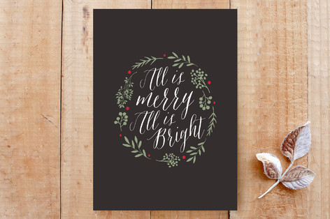 All is Merry All is Bright Cards