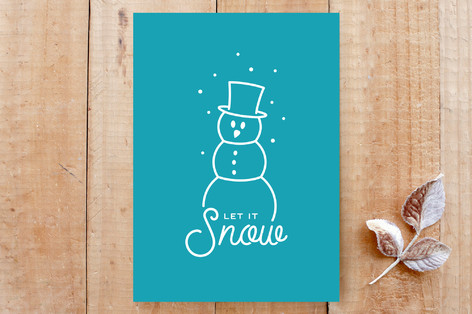 Snowy Little Lines Cards