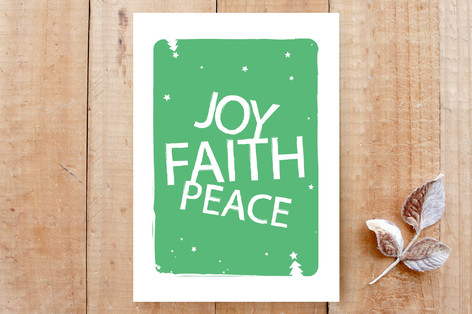 Joy, Faith & Peace Cards