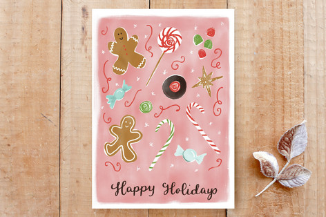 Christmas Sweets & Candies Cards
