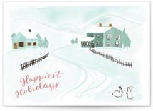 Snowy Scene 3 by Megan Kelso