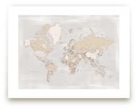 Rustic distressed world... by Rosana Laiz · Blursbyai