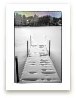 Winter Scene On Secret Lake