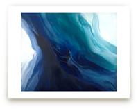 caribbean blue silk