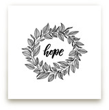 Hope Wreath by Lyna Ti