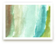 watercolor abstract painting