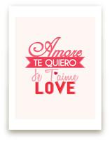 Love Languages Wall Art Prints