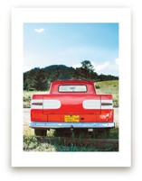 Red Truck by Jennifer Little