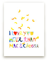 I love mac&cheese by Suzanne Blanck