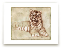 Sepia Tiger by Tracy Ann