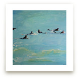 Paddling Out 2 by Annie Seaton