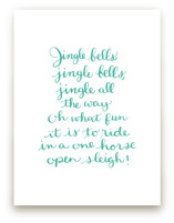 Jingle Bells Holiday by Megan Kelso
