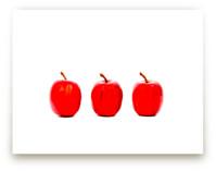 Red Apples by Katrina Leandro