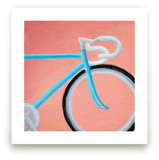 Blue Bike by Laura Morris