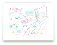New Orleans Calligraphy Map