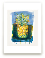 Painterly Pineapple by Stacy Kron