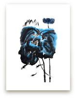 Blue Lillies by Stuart Heir