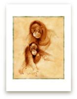 Orangutan by Tracy Ann