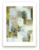 Taupe Abstract by Amy Lighthall